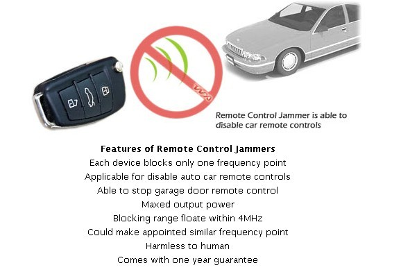 Cell phone frequency blocker - cell phone blocker in car